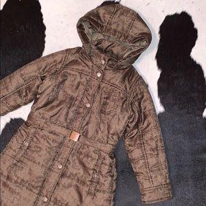 Christian Dior monogram puffer coat, kids size 6